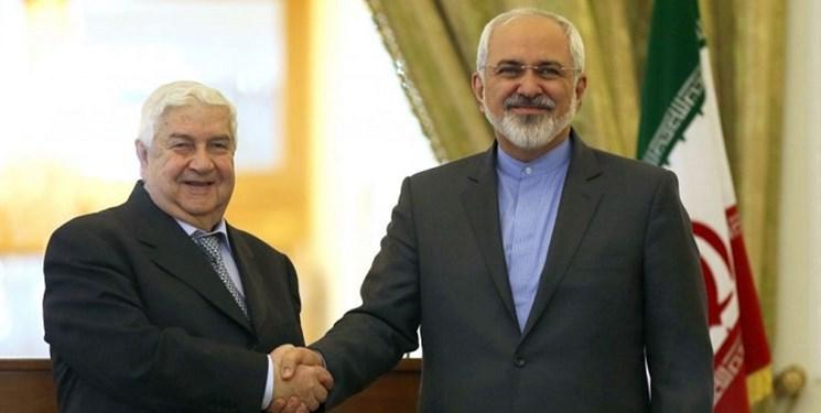 المیادین: ظریف دوشنبه در دمشق با المعلم دیدار می کند