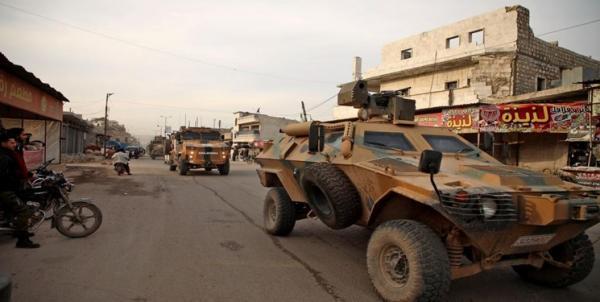 انفجار در نزدیکی کاروان نظامی ترکیه در شمال سوریه